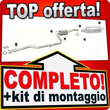 Scarico Completo FORD FIESTA MK4 1.4 16V 1.8 D Marmitta 165B