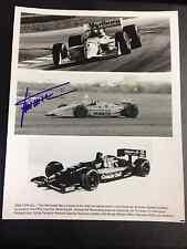 Gil de Ferran Penzoil  Indy Driver  8 x 10 Autographed picture with COA
