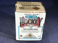 I4-93 HOCKEY CARDS - 1991-92 UPPER DECK HIGH NUMBER SERIES CARD SET - 200 CARDS