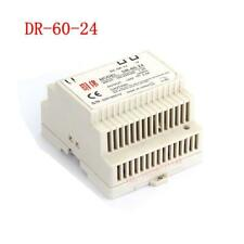 1pc DR-60-24 60W  Din Rail Mounted 24VDC 2.5A Output Industrical Power Supply