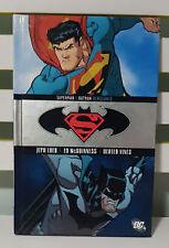 SUPERMAN / BATMAN - VENGEANCE! HARDCOVER GRAPHIC NOVEL BY JEPH LOEB!
