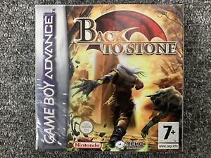 Back To Stone Game Boy Advance GBA New Factory Sealed 100% Genuine