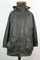 BARBOUR Border Olive Lined Jacket size 117Cm/46In