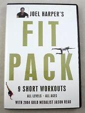 JOEL HARPER'S FIT PACK 9 SHORT WORKOUTS 2 DVD Set All Levels All Ages