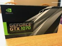 NVIDIA GeForce GTX 1070 - FE Founder's Edition 8GB GDDR5 Graphics Card