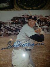 Ted Williams Signed Autographed 8x10 Photo Boston Red Sox COA Rare  bold Auto!!!