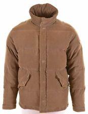 LEVI'S Mens Corduroy Padded Jacket Size 40 Large Khaki Cotton  AO06