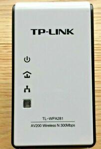TP-Link TL-WPA281 AV200 Wireless N Powerline Network Adapter 300Mbps Extender