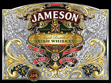 Jameson Irish Whiskey, Retro Metal Nostalgic Plaque Pub Bar Man Cave