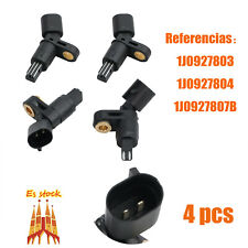 4X sensor de revoluciones de la rueda referencias 1j0927804 1J0927803 PARA SEAT