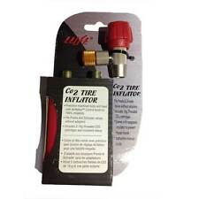 Co2 Flat Tyre Puncture Inflator Kit with 2 Cartridge For French & American Valve