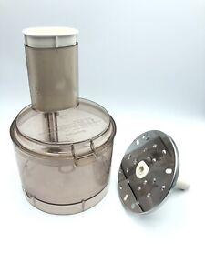 Kitchen Aid Food Processor Work Bowl w/Lid & Pusher KFP400+Shredder Blade