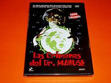 LOS CRIMENES DEL DR MABUSE - Precintada