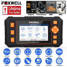 FOXWELL NT634 OBD2 Diagnostic Scanner SRS ABS Transmission DPF TPMS Oil Reset US