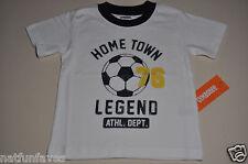 Gymboree toddler boy home town legend soccer tee shirt 12-18 months NWT top boys