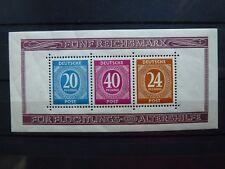 Germany, Allierte besetzung, 1946, Block, sheet 12A, **MNH