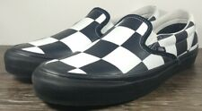 VAN'S x Barneys New York Men's Size 12 Slip-On 'Big Checkered - Black' 721287
