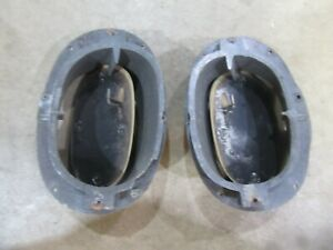 1958 Chevrolet Belair Biscayne interior fresh air kick panel air vent duct piece