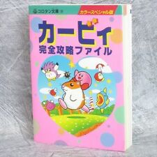 KIRBY Perfect Strategy File Ball Pinball Star Guide GB Famicom SFC Book SG365