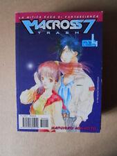 MACROSS 7 TRASH #4 1998 - Haruhiko Mikimoto Planet Manga [G934]