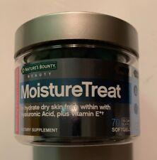 Natures Bounty  MoistureTreat  70 Softgels Exp:09/2020 Sealed