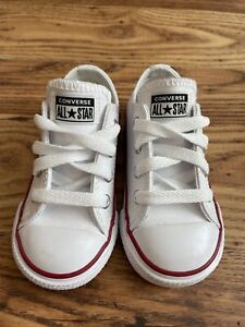 Converse All Star Leather Size 6 KIDS UK