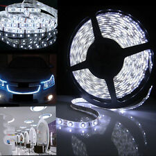 Ultra Bright 12V 5m 600 LED SMD 3528 White Flexible Strip Car Lights Waterproof