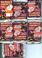 Ultimate Combat CCG Starter Deck Booster Pack Lot MINT Judo Taekwando Wrestling