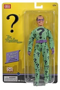 "NEW 2021 MEGO THE RIDDLER 8"" FIGURE MOC!"