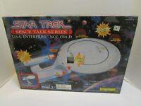 PLAYMATES STAR TREK SPACE TALK SERIES U.S.S. ENTERPRISE NCC-1701-D  *NEW IN BOX*