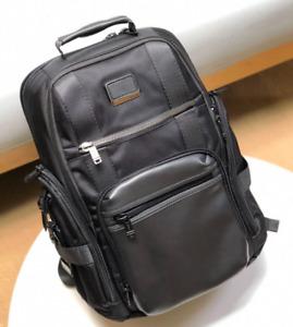 Tumi Alpha Bravo Sheppard luxury bulletproof nylon backpack computer bag