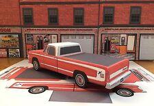"Papercraft 1971 FARGO (Dodge) ""DUDE"" pickup 1/27th paper model vehicle EZU-make"