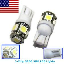 2 White T10 194 168 175 2825 Map Dome License Plate LED Lights for VW Volkswagen