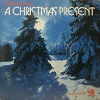 "Ronco Presents A CHRISTMAS PRESENT 12"" LP Rare 1973 Ronco Holiday Cheer VG+/EX"