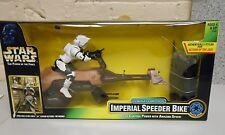 1997 Star Wars POTF RADIO CONTROL IMPERIAL SPEEDER BIKE MIB