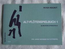 Peter Heilbut, Alt-Flötenspielbuch für junge Anfänger im Flötenspiel