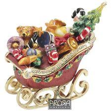 Craycombe Trinkets 6029 Sleigh with Presents Jewellery Trinket Box  NEW  20612