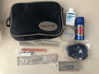 Delta Airlines Vintage First Class Amenities Toiletries Travel Kit Bag NeverUsed