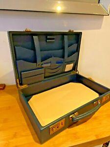 Vintage 1930s Leather writing case Smythson of Bond Street VGC leather suitcase