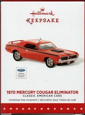 1970 MERCURY COUGAR ELIMINATOR Hallmark Muscle Car Keepsake Christmas Ornament
