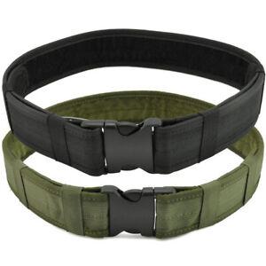 Men's Military Tactical Belt Adjustable Buckle Gun Belt Quick Release Army Belts