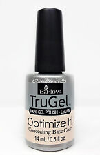 EZFlow TruGel Nail Polish - Optimize It! CONCEALING Base Coat 0.5oz - 42595