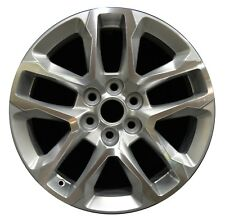 "18"" Chevrolet Traverse 2018 Factory OEM Rim Wheel 5843 Silver Machined"