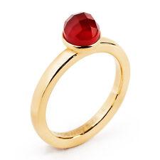 Anello Donna in acciaio Brosway Btgc27b con Pietra colore Rosso