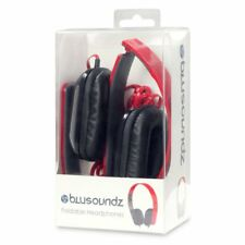 Blusoundz Stereo Headset/Headphones - Red Brand New & Sealed