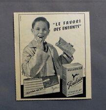 PUB PUBLICITE ANCIENNE ADVERT CLIPPING 031017 CHOCOLAT POULAIN LE FAVORI DES ENF