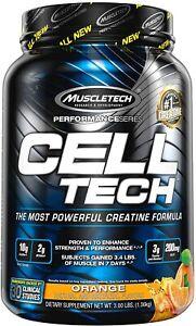 MUSCLETECH  CELL-TECH Muscle Gain, Creatine Formula, 3 lb (1.36 kg) 28 Serves