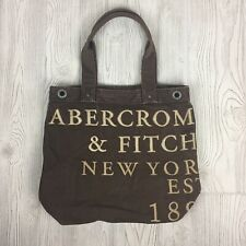 Abercrombie And Fitch Brown Canvas Tote
