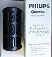 Philips SB7220 Shoqbox Waterproof Drop Proof Bluetooth Wireless Speaker
