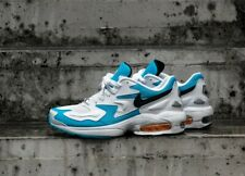 NIKE MENS AIR MAX 2 LIGHT - UK 9/US 10/EU 44 - BLUE/WHITE/BLACK (AO1741-100)